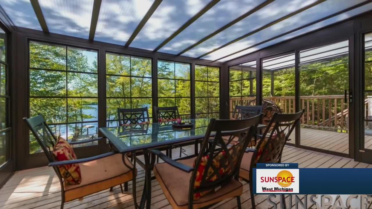 Turn your deck into an all-season sunroom with Sunspace West Michigan