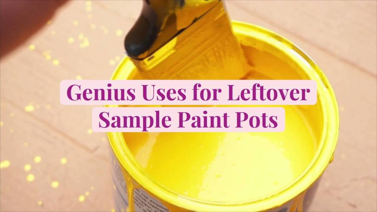 12 Genius Uses for Leftover Sample Paint Pots