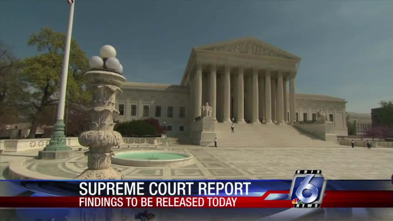 Report coming from commission created to mull Supreme Court changes
