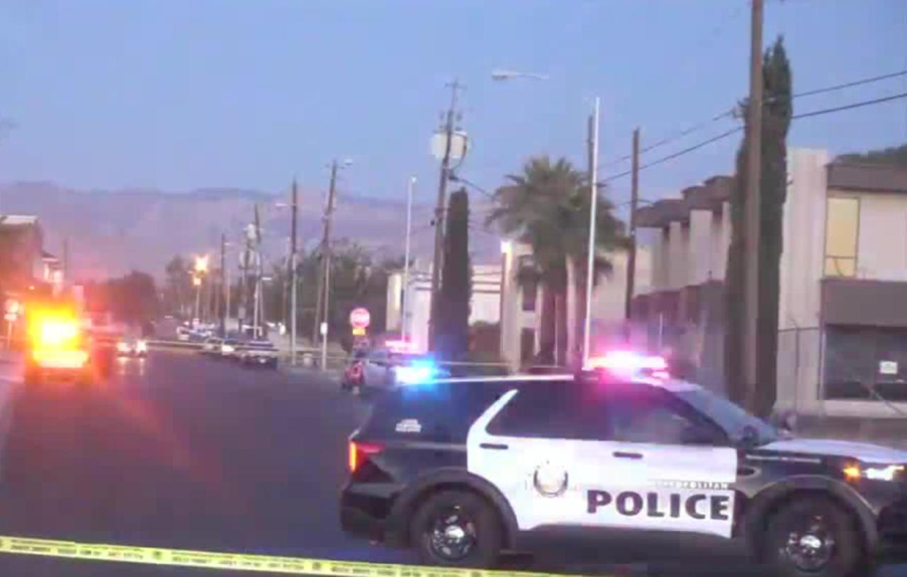 LVMPD investigates early morning shooting, 1 man in hospital
