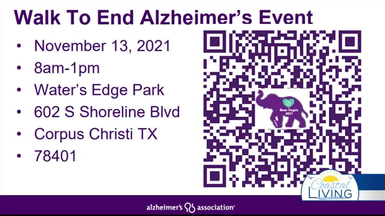 Walk To End Alzheimer's Event