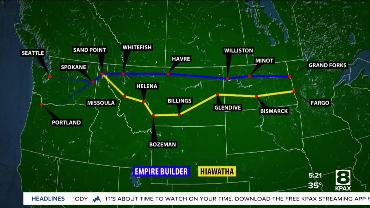 Report pins future numbers to proposal for Montana's 'southern rail route'