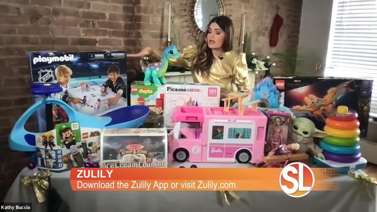 Need some holiday gift ideas? Check out Zulily's Santa's Workshop