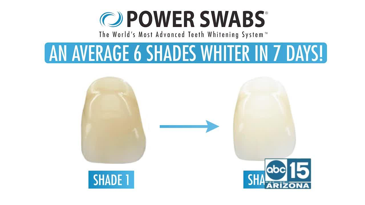 Want whiter teeth? Try Power Swabs TODAY!