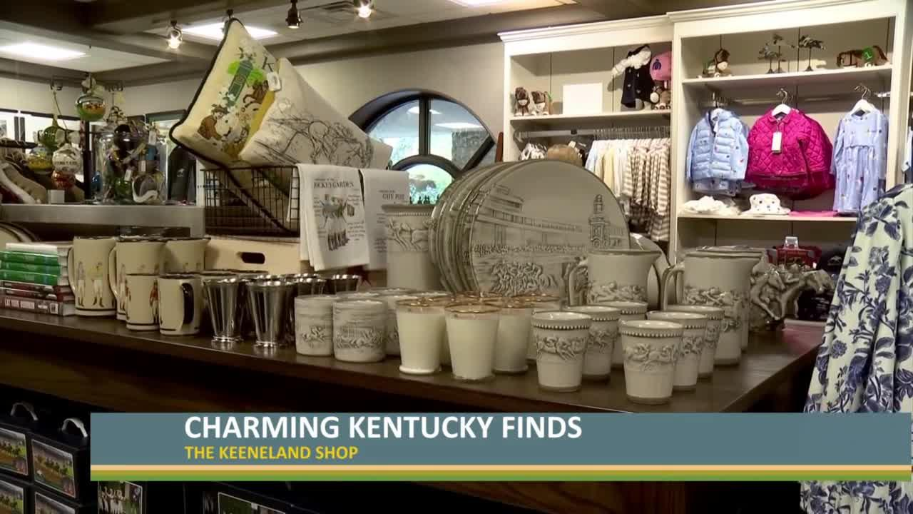 The Keeneland Shop has charming Kentucky finds