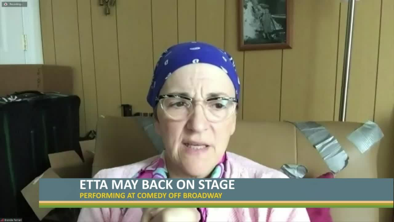Etta May back on stage at Comedy Off Broadway