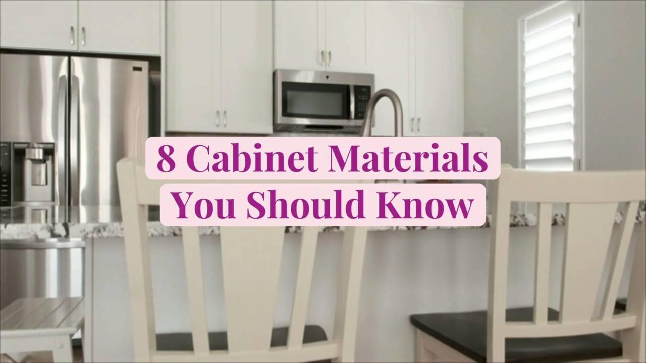 8 Cabinet Materials You Should Know and How to Choose the Best Type for Your Kitchen