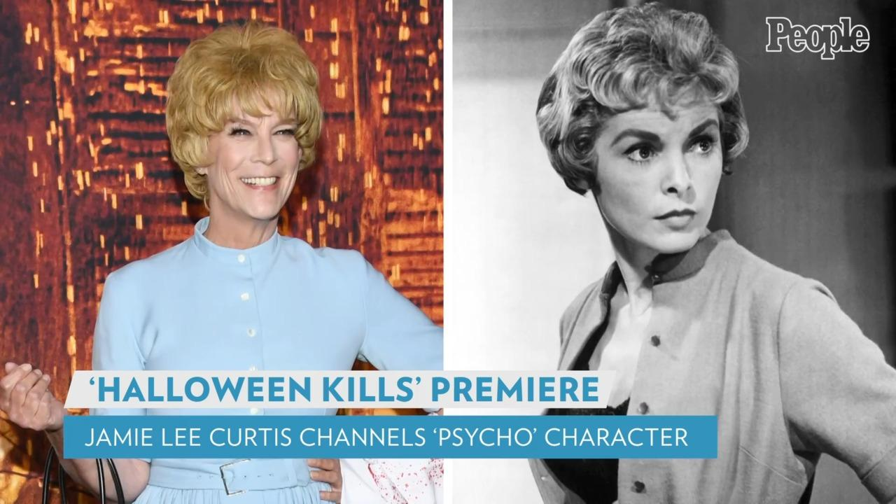 Jamie Lee Curtis Wears Janet Leigh Psycho Costume: 'Honoring My Mother in All Her Gory'