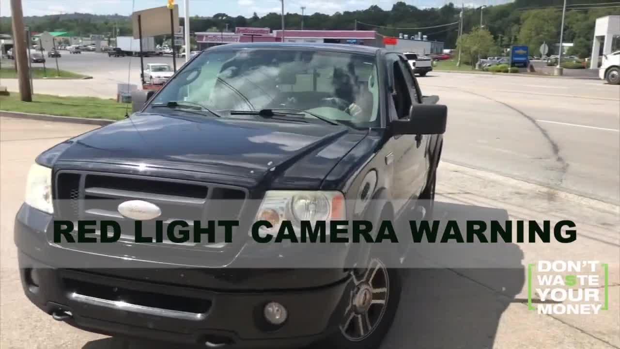 Red light camera mistaken identity