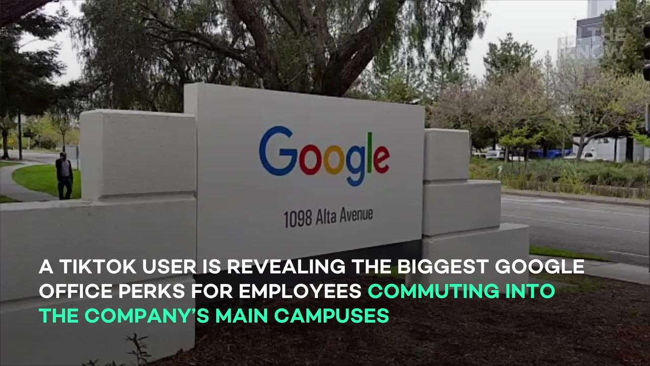 Former Google employee reveals the company's biggest 'office perks'