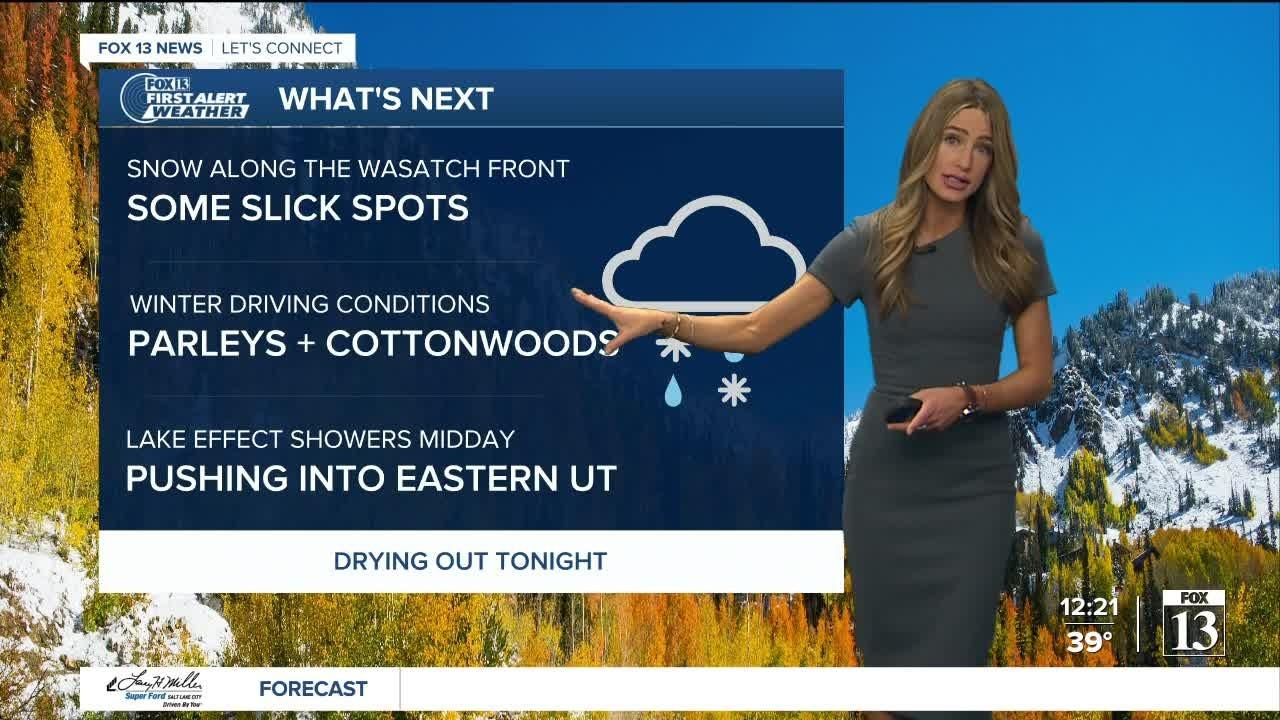 Cold day, but things improve this weekend - October 14