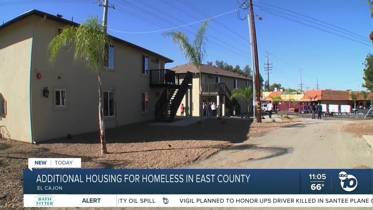 East Co. transitional center opens new dorms