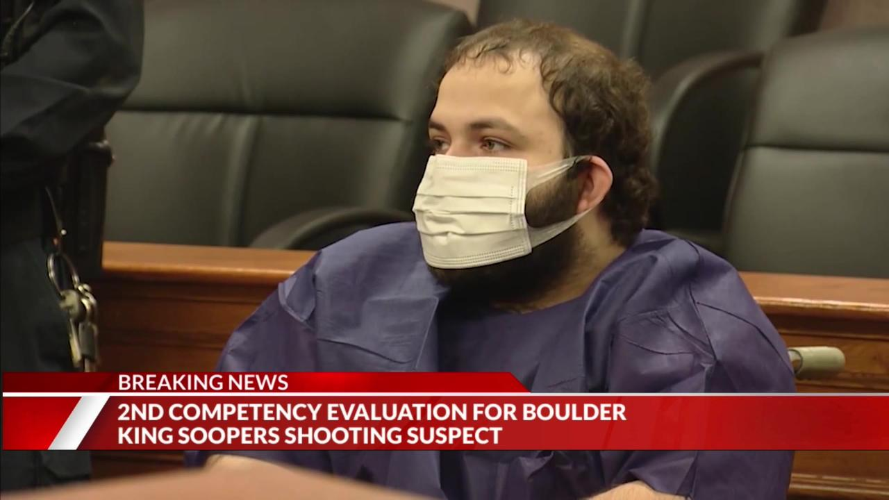 Colorado grocery store mass shooting suspect deemed incompetent for trial, second evaluation ordered