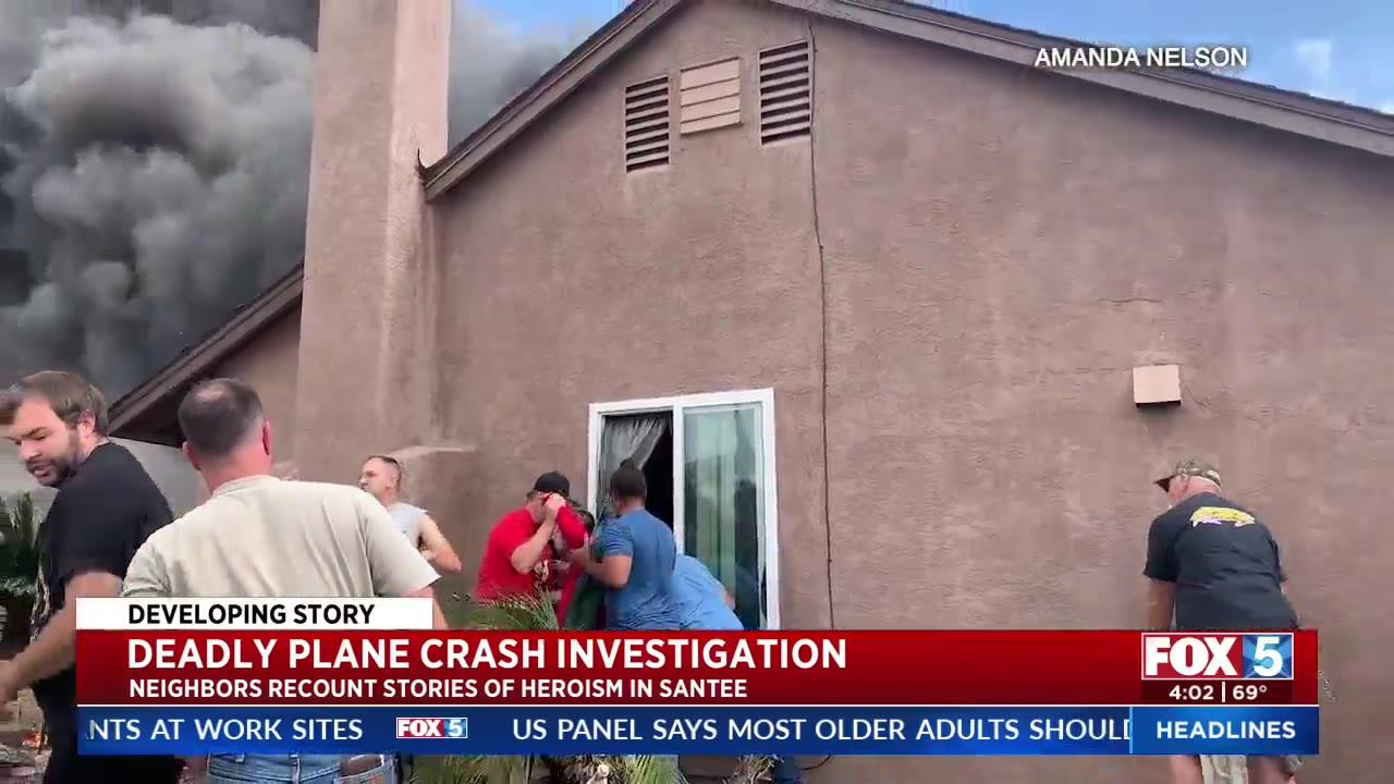 Neighbors picking up the pieces after deadly plane crash in San Diego neighborhood