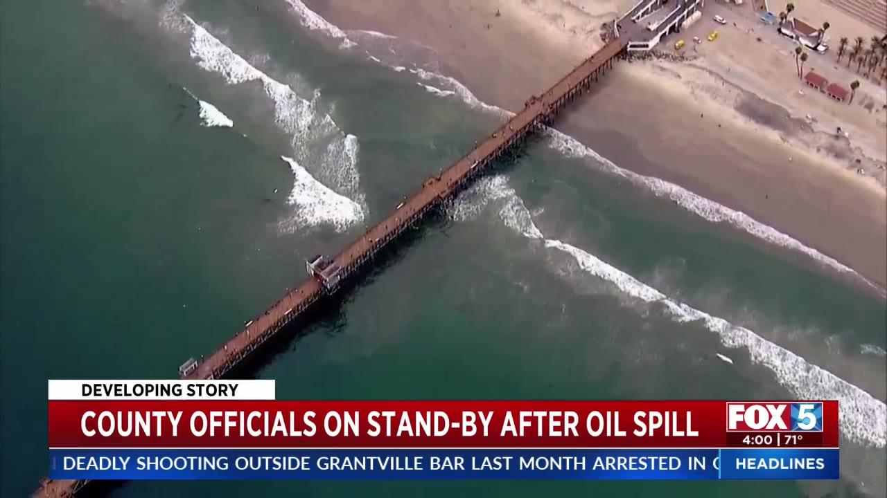 Tar balls reported at San Diego beaches as oil spill makes its way south