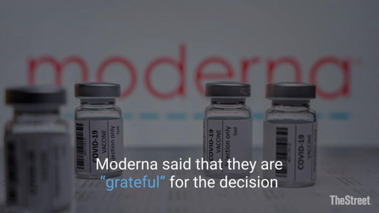 FDA Advisory Panel Unanimously Recommends Moderna Booster Shot