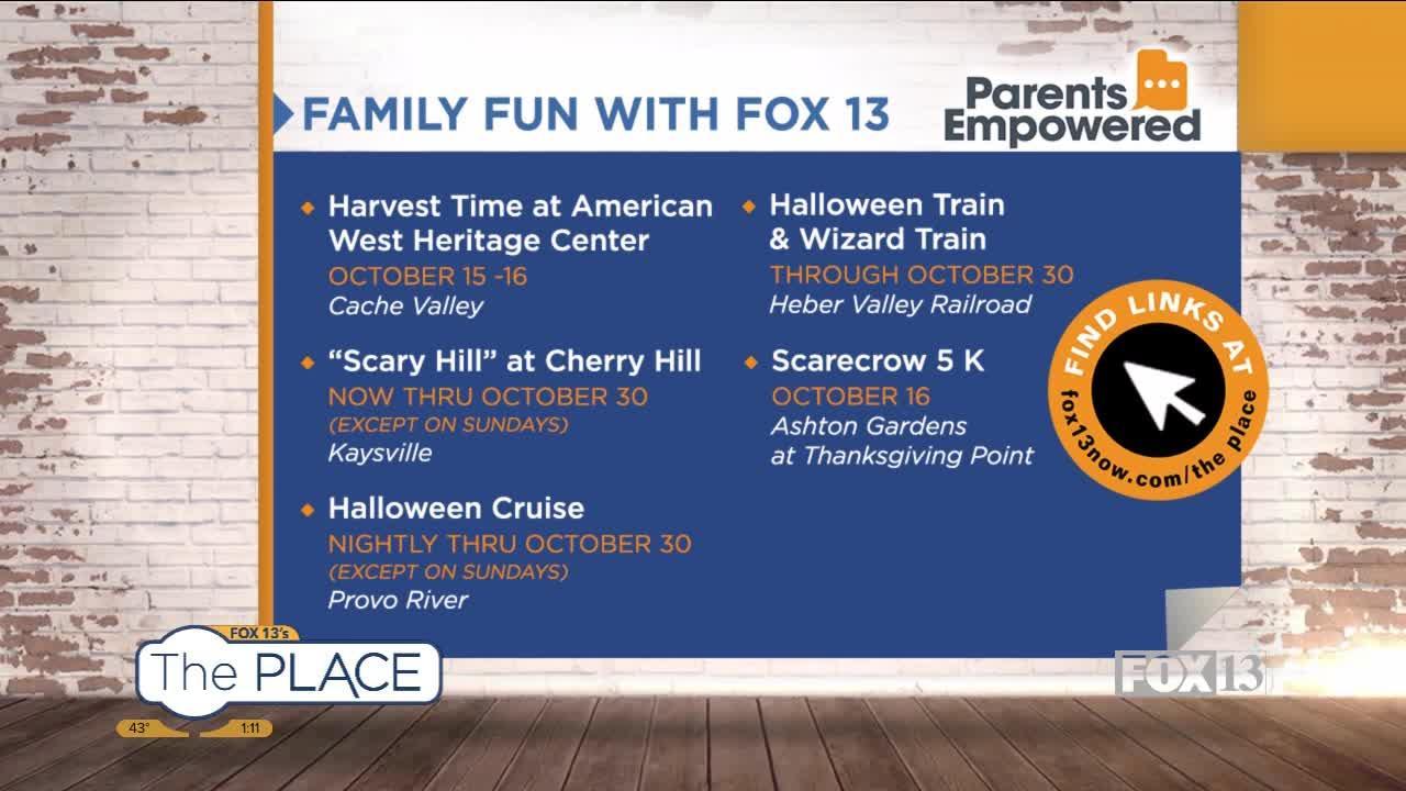 Family Fun with Fox 13 (10/14-10/17)