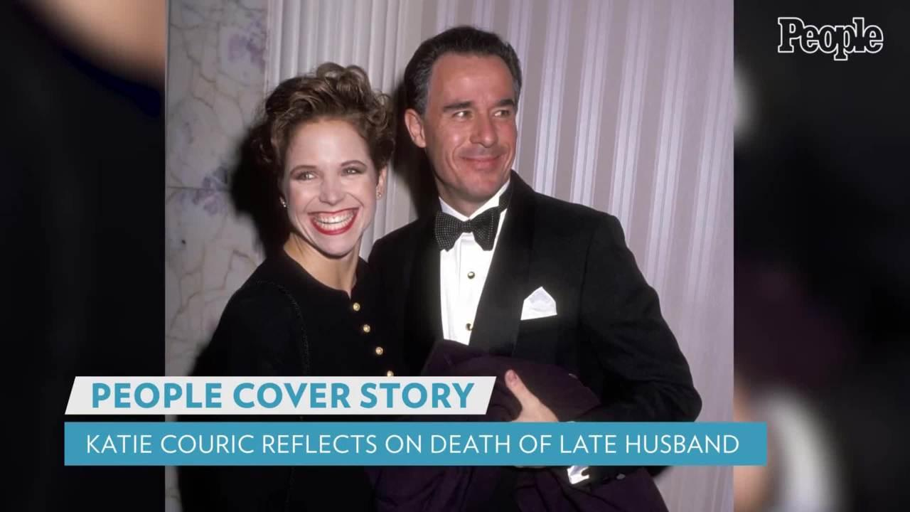 Katie Couric on Husband Jay's Death from Cancer: 'I Was Too Scared' to Talk to Him About Dying