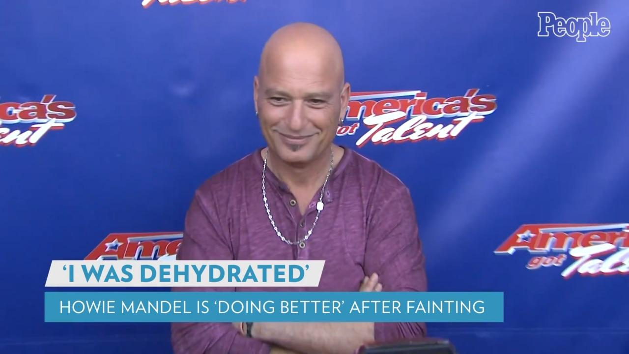 Howie Mandel Says He Is 'Home and Doing Better' After Fainting at L.A. Starbucks