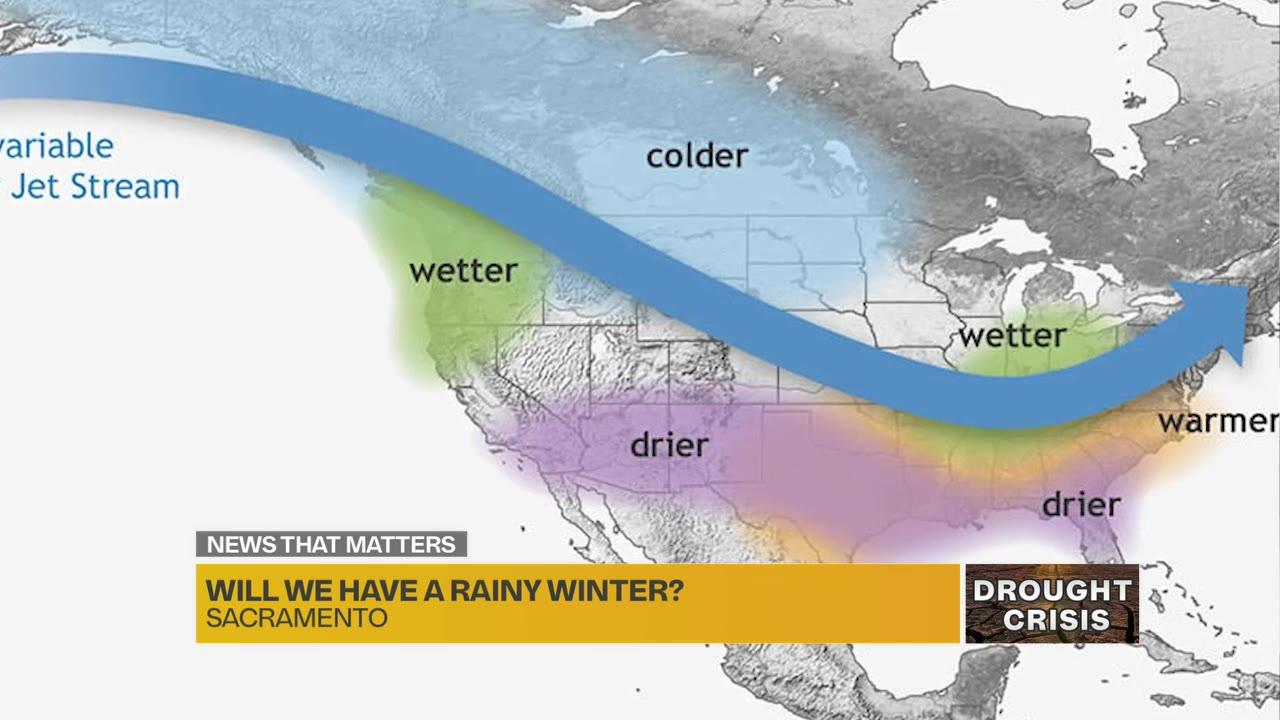 Early signs suggest California could have modest winter rain, hampering drought recovery