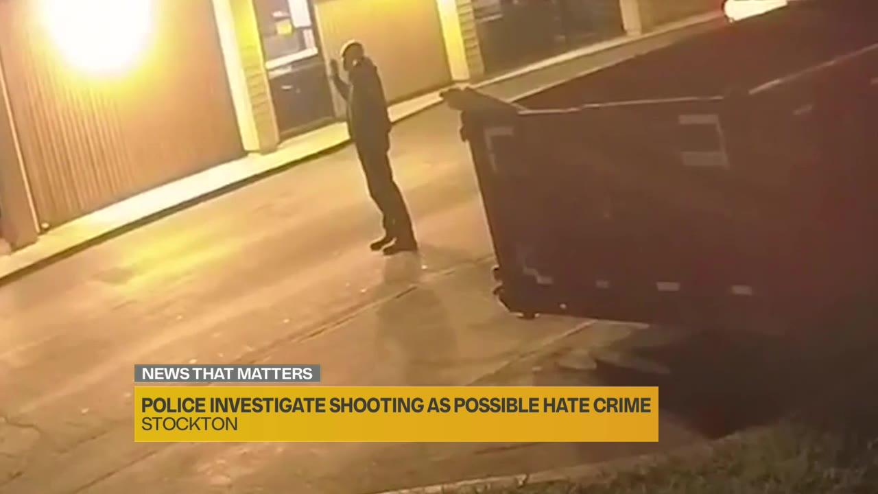 'It's like your worst nightmare,' says family of California man shot in possible hate crime