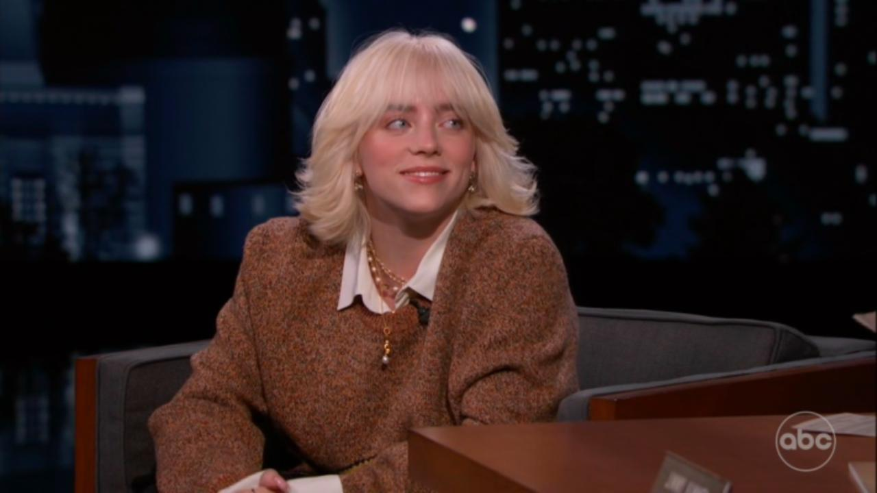Billie Eilish Calls Jimmy Kimmel Out For Making Her 'Look A Little Stupid'