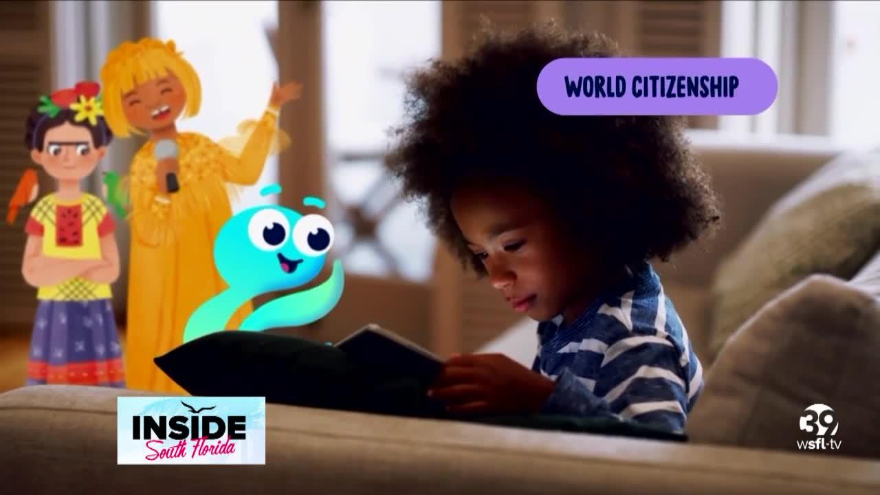 New app helps children learn with stories