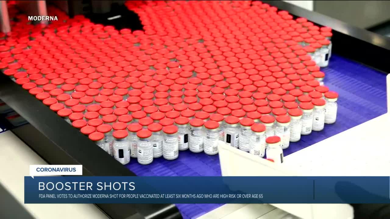 FDA panel endorses lower-dose Moderna COVID shot for booster