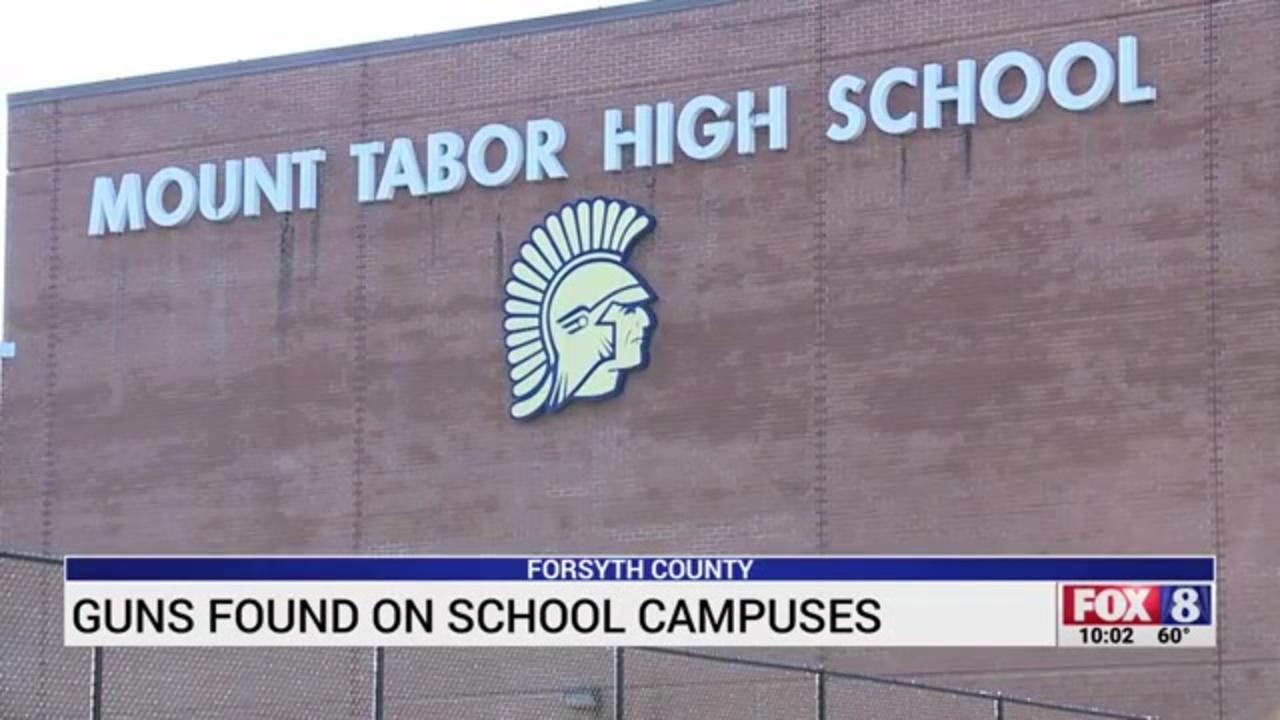 Gun found at North Carolina high school 3 weeks after deadly shooting