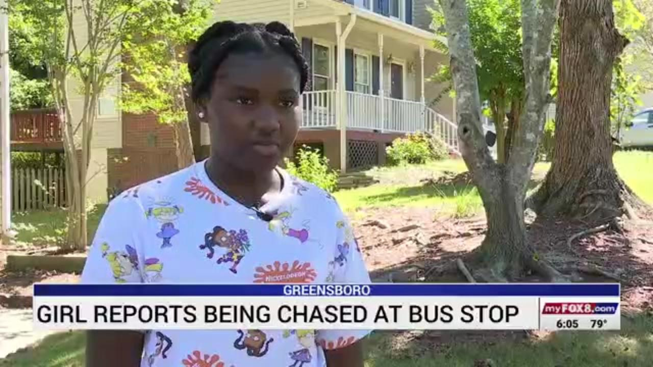 Man on moped chases 14-year-old girl home from bus stop in North Carolina