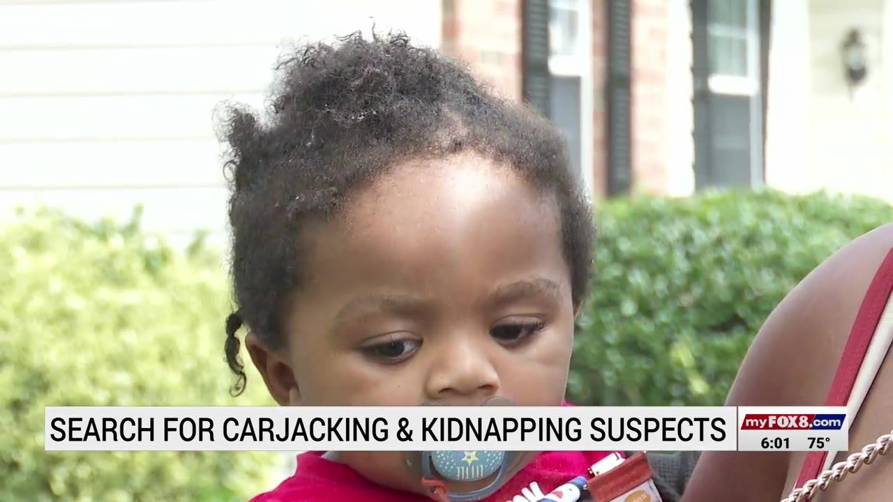 North Carolina woman goes inside gas station for seconds, comes outside to find car, baby gone