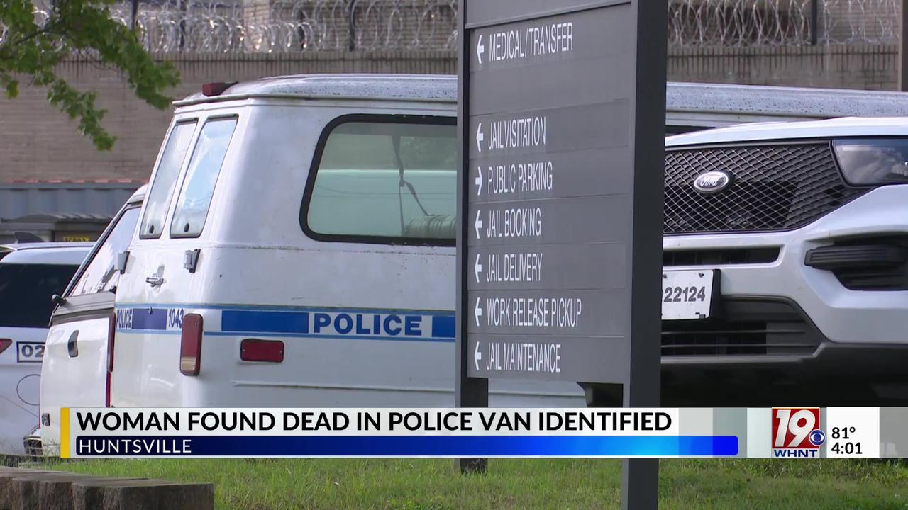 Alabama police identify woman found in van outside headquarters