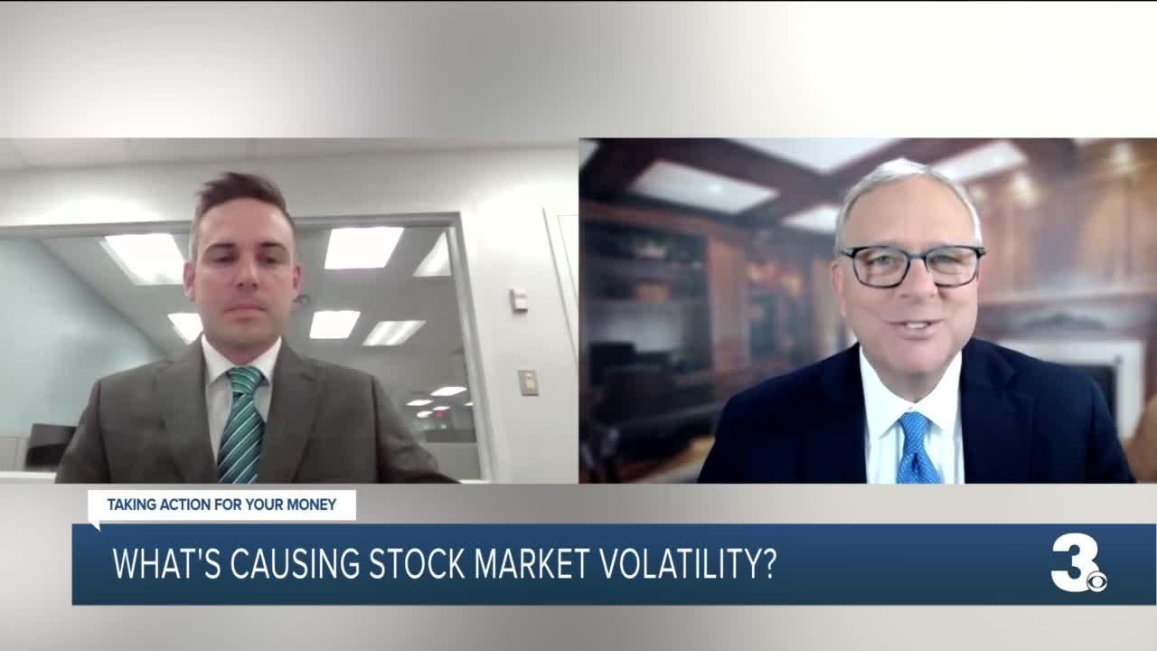 What's causing stock market volatility?