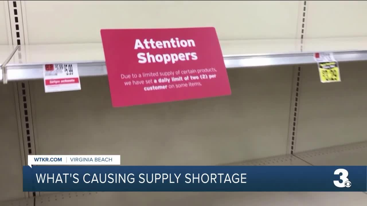 What's causing supply shortage