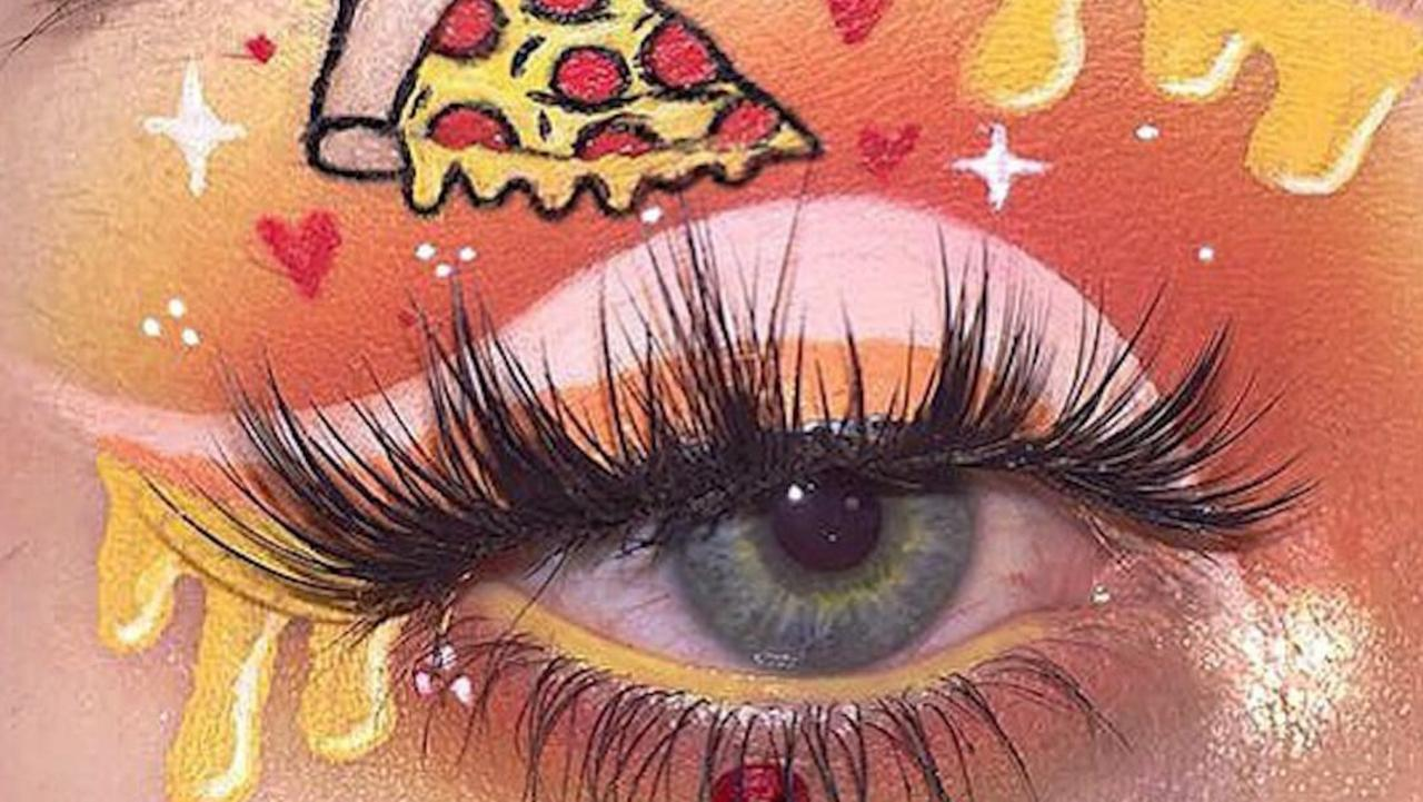 Makeup artist upgrades any look with stunning eye art