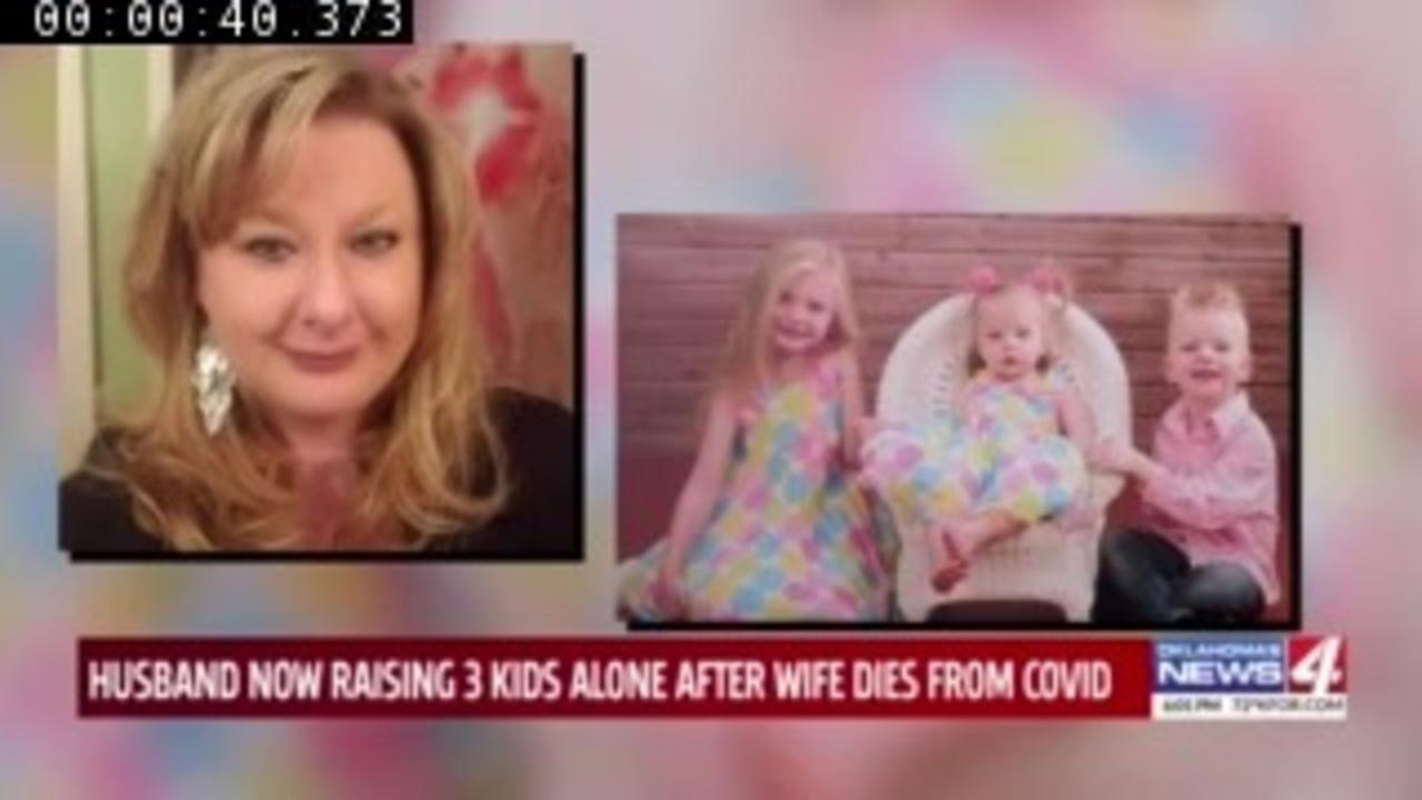 'It's not worth not getting vaccinated': Oklahoma man loses wife to COVID-19