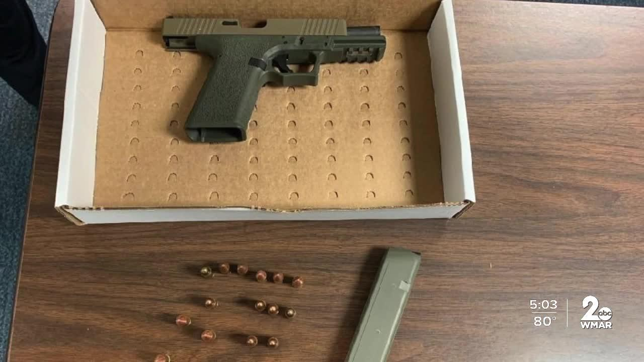 Man charged with possessing 'ghost gun' in Anne Arundel County