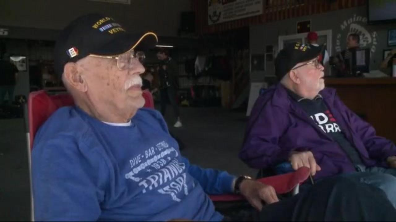 'No, I'm not too old': Iowa veterans in their 90s go skydiving