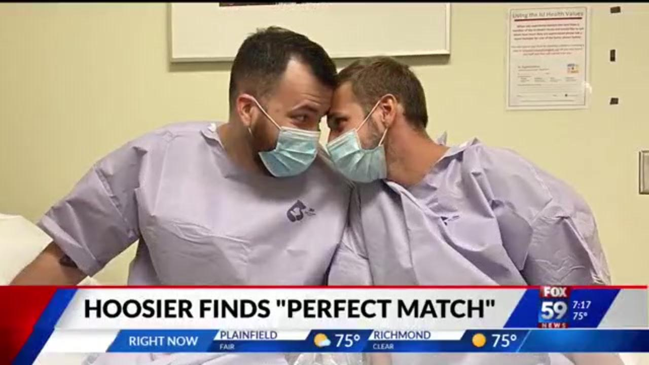 Indiana man finds love and a new kidney on dating app