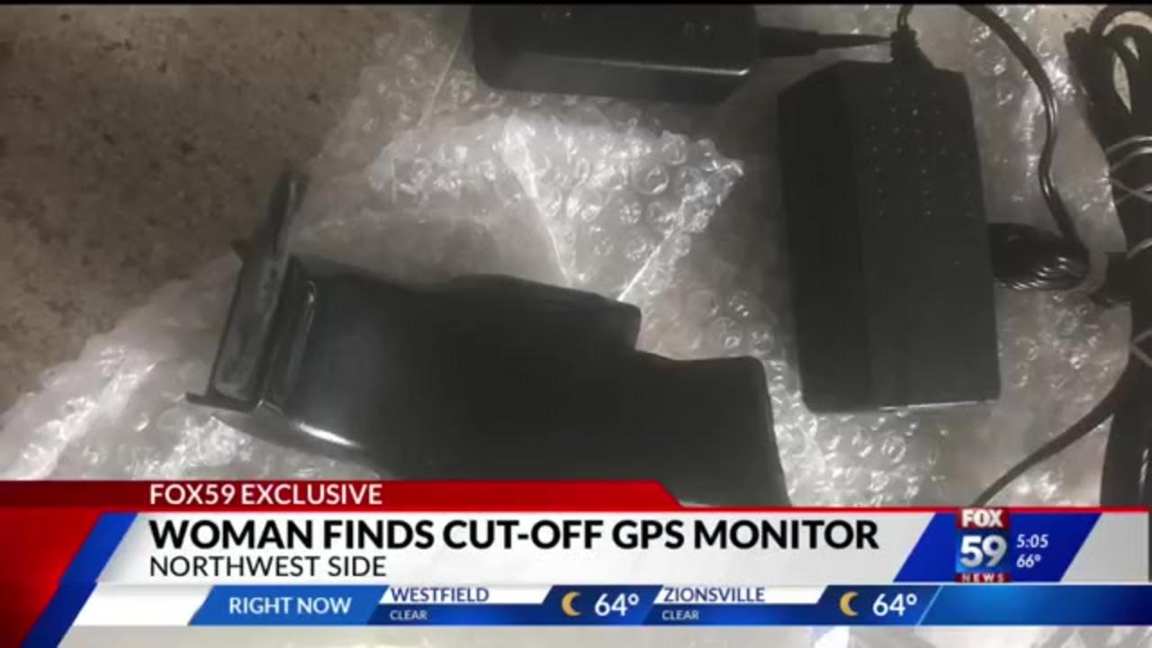 Indianapolis woman finds cut-off GPS monitor, wonders how well the system is working