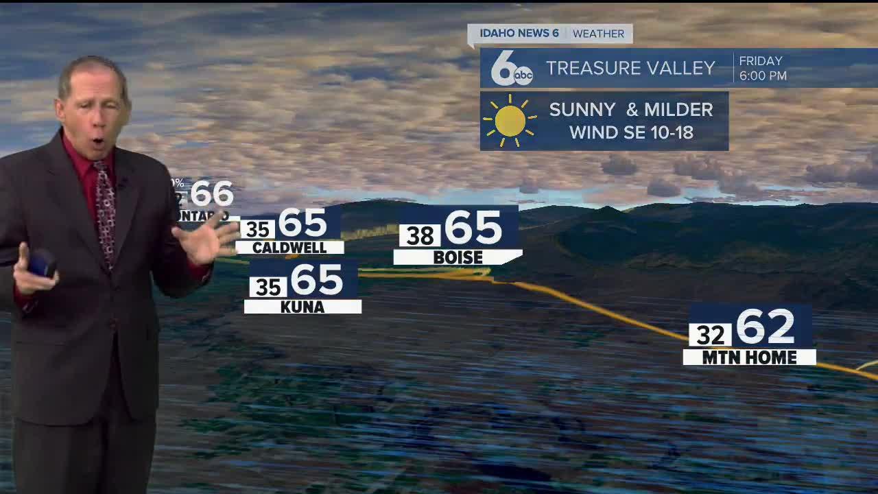 Scott Dorval's Idaho News 6 Forecast - Thursday 10/14/21