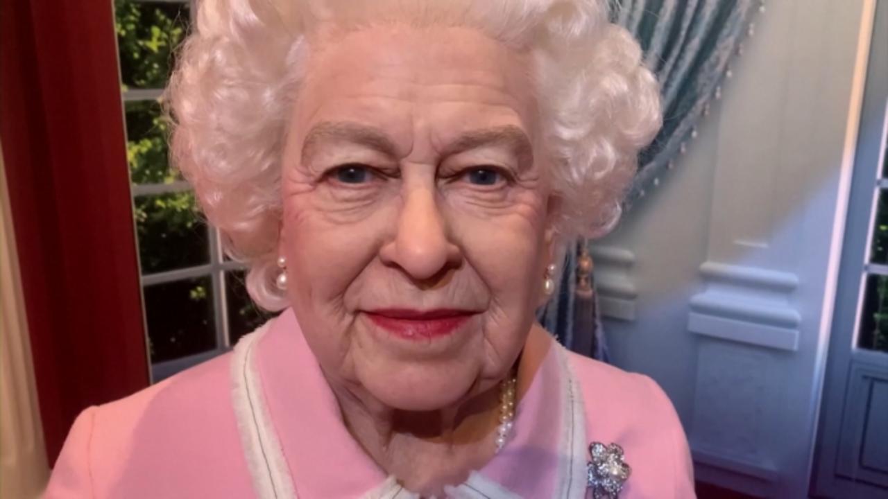 Queen Elizabeth's New Waxwork Unveiled At Madame Tussauds In Blackpool