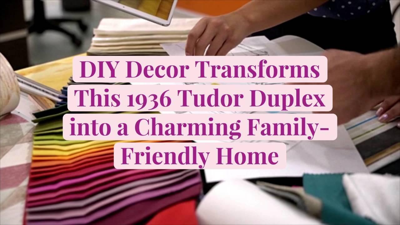 DIY Decor Transforms This 1936 Tudor Duplex into a Charming Family-Friendly Home