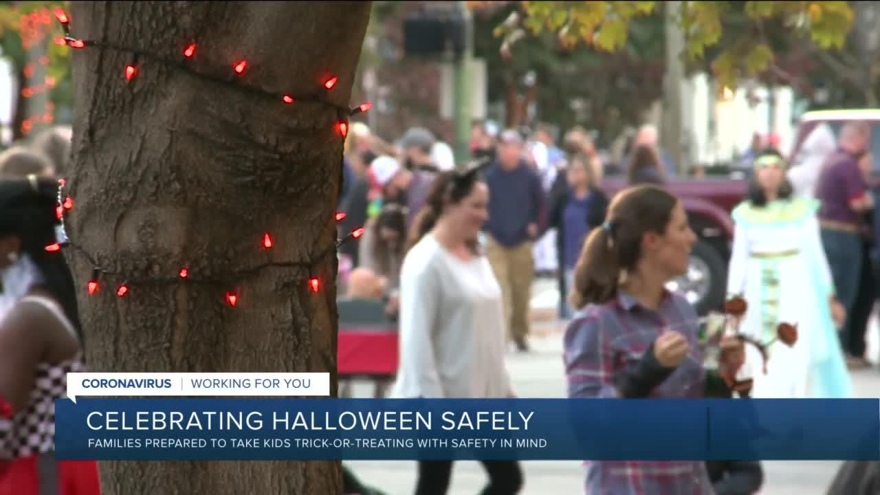 Young kids should wear a mask trick-or-treating on Halloween, health expert urges