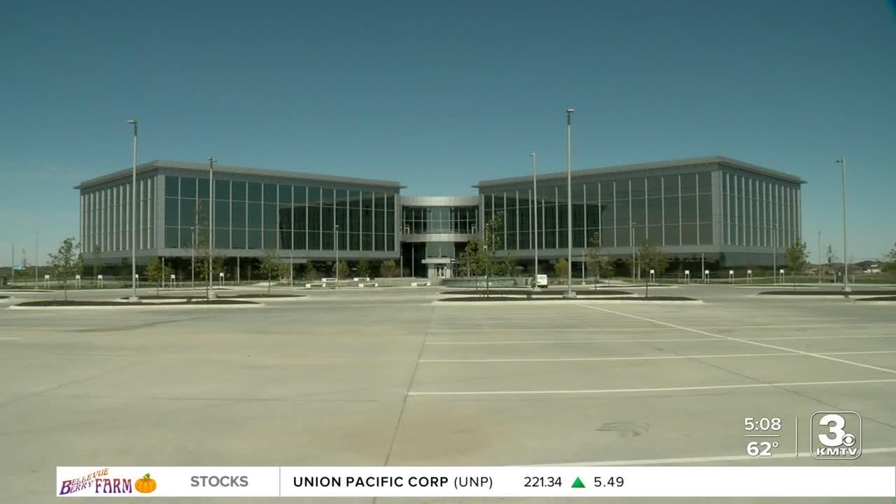 Officials dedicate new office building in West Omaha