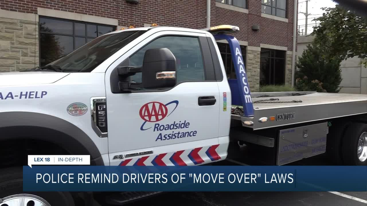 Police reminds drivers of 'Move Over' laws