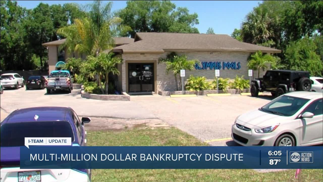 Bankruptcy by Olympus Pools owner could cut out hundreds of customers who lost money