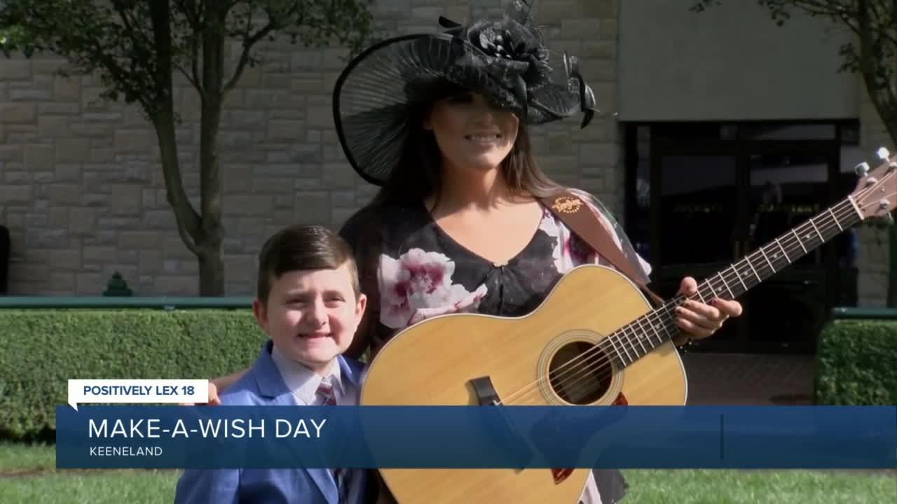 14th annual Make-A-Wish Day at Keeneland