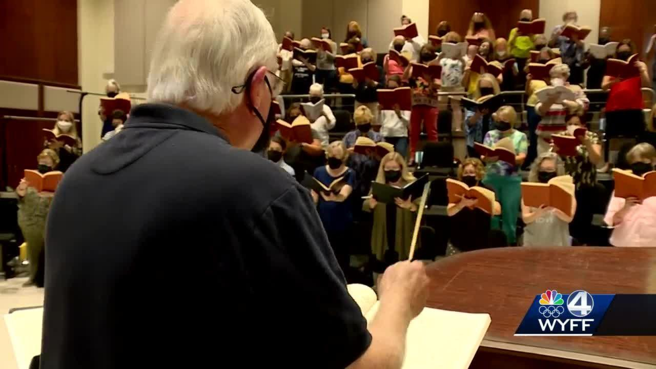 Greenville chorale, symphony perform first concert since pandemic began