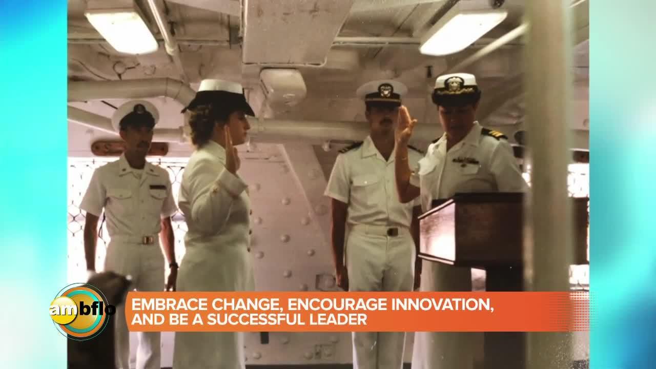 Meet retired rear admiral Danelle Barrett author of Rock the Boat - winner announced